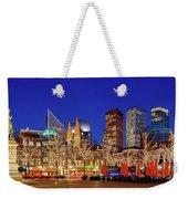 Plein At Blue Hour - The Hague Weekender Tote Bag