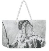 Taopi Ota - Lakota Sioux Weekender Tote Bag by Brandy Woods