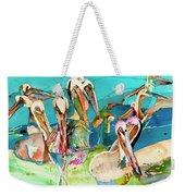 Plethora Of Pelicans Weekender Tote Bag
