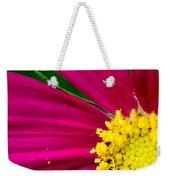 Plink Flower Closeup Weekender Tote Bag