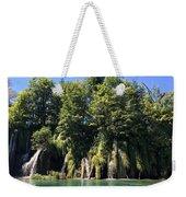 Plitvice Falls Weekender Tote Bag