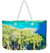 Plitvice Lakes National Park Vertical View Weekender Tote Bag