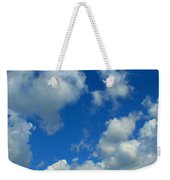 Ploughing Under A Mid Day Sun Weekender Tote Bag