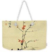 Plum And Bamboo Weekender Tote Bag