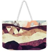 Plum Fields Weekender Tote Bag