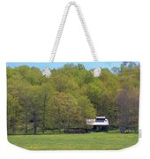 Plum Hollow Sugar Shack In Spring Weekender Tote Bag