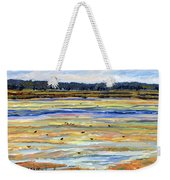 Plum Island Salt Marsh Weekender Tote Bag