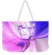 Plum Juices Abstract Weekender Tote Bag