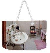 Plumber - The Bathroom  Weekender Tote Bag