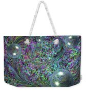 Plume And Bubbles Weekender Tote Bag