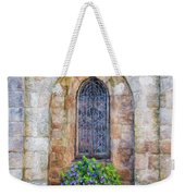 Plumergat, Brittany,france, Parish Church Window Weekender Tote Bag
