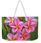 Plumeria After The Rain II Weekender Tote Bag