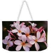Plumeria Flowers Weekender Tote Bag