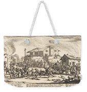 Plundering And Burning A Village Weekender Tote Bag