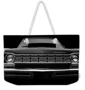 Plymouth Fury - Black Weekender Tote Bag