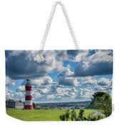 Plymouth Hoe And Smeatons Tower Weekender Tote Bag