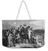 Plymouth Rock: Landing Weekender Tote Bag
