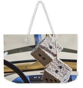 Plymouth Special Deluxe Dice Weekender Tote Bag