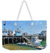 Plymouth Waterfront Weekender Tote Bag