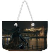 Poet On The Danube Weekender Tote Bag