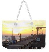 Point Arena Wharf Weekender Tote Bag
