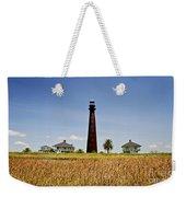 Point Bolivar Lighthouse Weekender Tote Bag