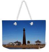 Point Bolivar Lighthouse Tx Weekender Tote Bag