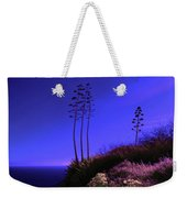 Point Fermin In Infrared Weekender Tote Bag
