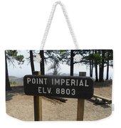Point Imperial Weekender Tote Bag