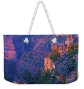 Point Imperial Sunrise 1-sq Weekender Tote Bag