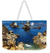 Point Lobos Whalers Cove- Seascape Art Weekender Tote Bag
