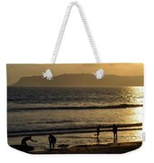 Point Loma California Surfers Weekender Tote Bag