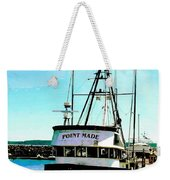 Point Made At Pt Townsend Wa Weekender Tote Bag