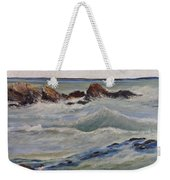Point Of Action Weekender Tote Bag