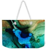 Point Of Power - Abstract Painting By Sharon Cummings Weekender Tote Bag