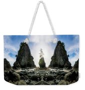 Point Of The Arches Reflection Weekender Tote Bag
