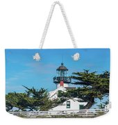 Point Pinos Lighthouse Weekender Tote Bag