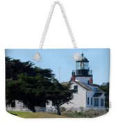 Point Pinos Lighthouse In Pacific Grove, California Weekender Tote Bag