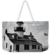 Point Pinos Pacific Grove Lighthouse Weekender Tote Bag