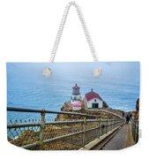 Point Reyes Lighthouse Weekender Tote Bag