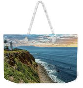 Point Vincente Lighthouse Weekender Tote Bag