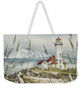 Point Wilson Lighthouse Weekender Tote Bag
