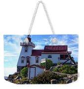 Pointe Au Baril Lighthouse Weekender Tote Bag