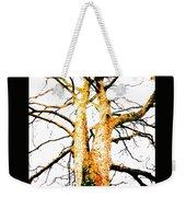 Pointillised Tree Weekender Tote Bag