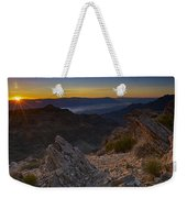 Pointing At The Sun Weekender Tote Bag