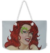 Poison Ivy Weekender Tote Bag by Leida Nogueira