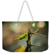 Poisonous Insect Larva Weekender Tote Bag