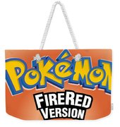 Pokemon Fire Red Emulator Weekender Tote Bag