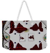 Poker Art Weekender Tote Bag
