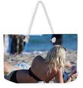 Poker At The Beach Weekender Tote Bag